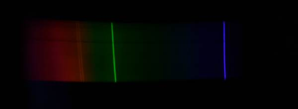 mercury emission spectrum